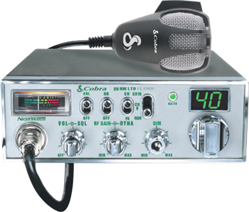 Cobra 25 NW LTD Classic With NightWatch® Display CB Radio