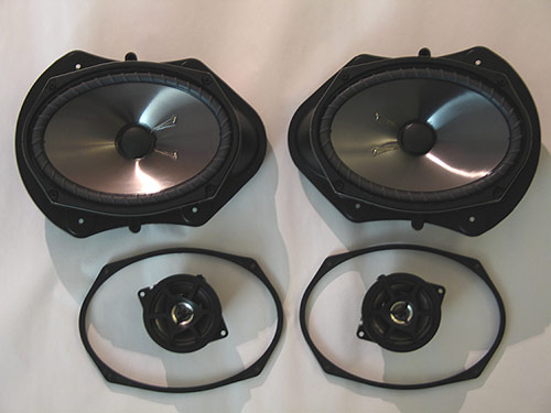 Kicker Premium System Front Speaker Upgrade Kit