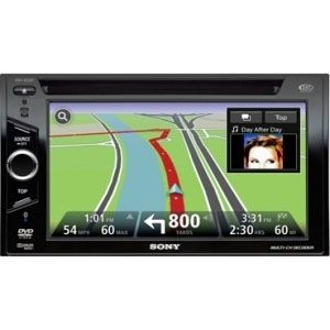 Sony A/V Receiver With Navigation and Bluetooth