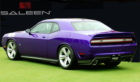SMS 570 Side Skirts 08-up Dodge Challenger