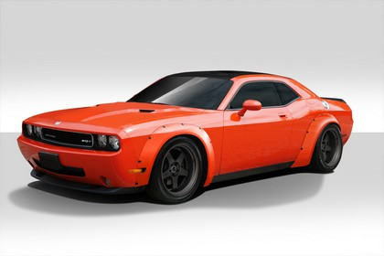 Duraflex 4 Piece Novara Wide Body Kit 08-up Dodge Challenger