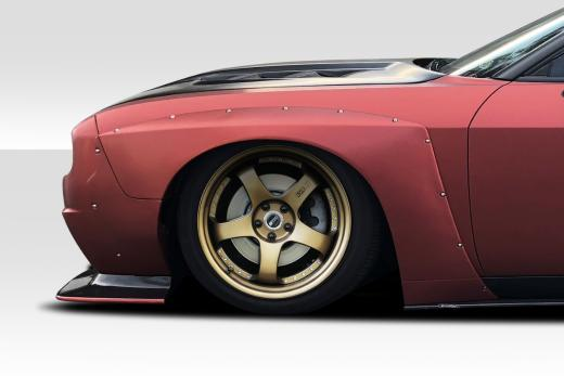 Duraflex Circuit Front Fender Overlays 08-up Dodge Challenger
