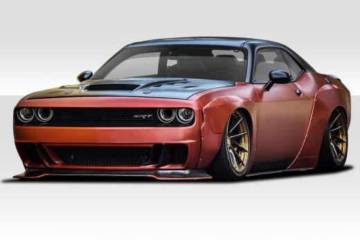 Duraflex 8 Piece Circuit Wide Body Kit 08-up Dodge Challenger