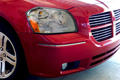 GTS Clear Headlight Covers 05-07 Dodge Magnum