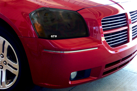 GTS Smoked Headlight Covers 05-07 Dodge Magnum
