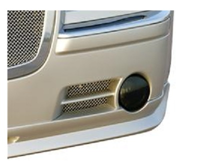 GTS Fog Light Covers 06-10 Dodge Charger