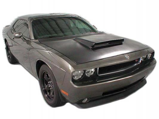 Fiberglass Super Stock Style Hood 08-up Dodge Challenger