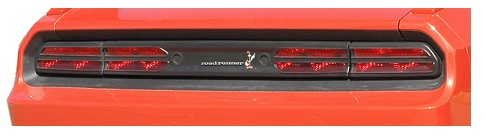 Superbird Tail Light Overlay 08-up Dodge Challenger