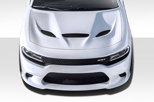 Duraflex Hellcat Style Hood 15-up Dodge Charger
