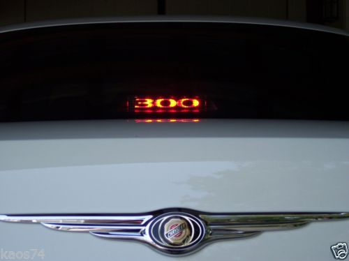3rd Brake Light Overlay Chrysler 300