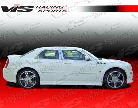 VIS Racing VIP Side Skirts 05-10 Chrysler 300-300C, Dodge Magnum
