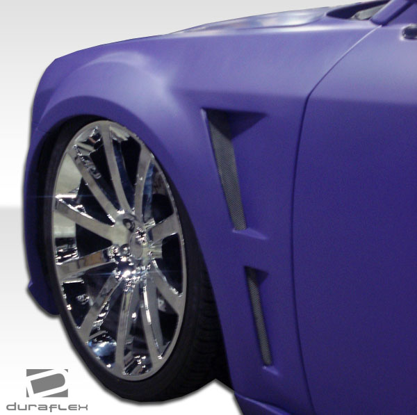 Duraflex Executive Style Front Fenders 05-10 Chrysler 300/300C
