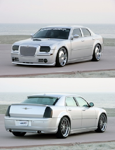 Xenon Urethane Full Body Kit 05-10 Chrysler 300C