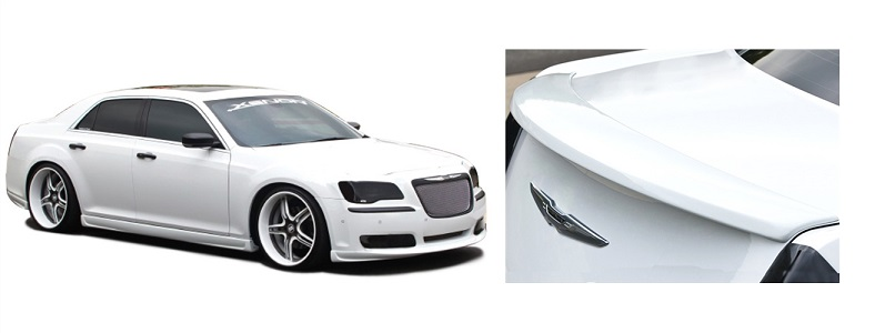 Xenon Urethane Full Body Kit with Spoiler 11-18 Chrysler 300