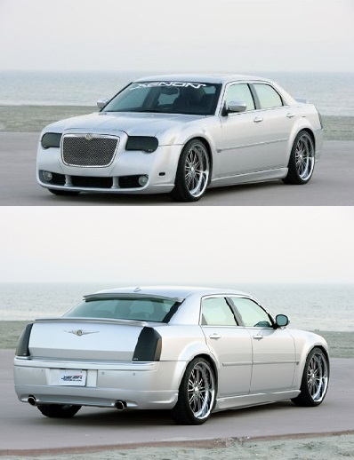 Xenon Full Body Kit 05-10 Chrysler 300 Base, Touring, Limited