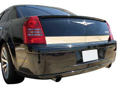 Willmore Polished Stainless Trunk Molding 05-10 Chrysler 300