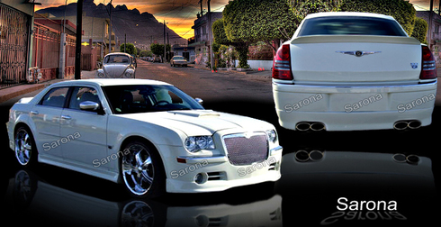 Sarona Fiberglass Body Kit 05-10 Chrysler 300C