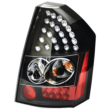 IPCW Bermuda Black LED Tail Light Set 08-10 Chrysler 300