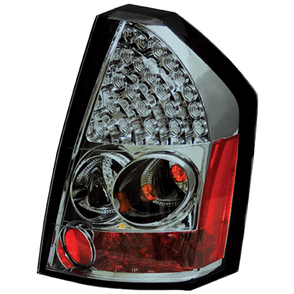 IPCW Platinum Smoke LED Tail Light Set 08-10 Chrysler 300