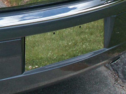 Polished Stainless Rear License Area Insert 05-10 Chrysler 300