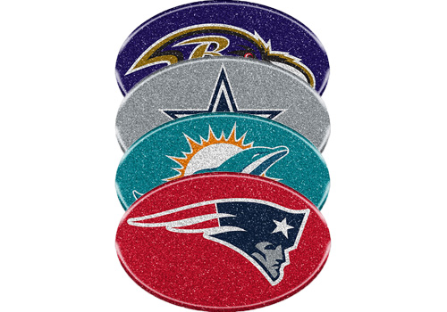 Team Promark NFL Team Color Bling Emblem