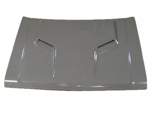 AAR Fiberglass R/T Ram Air Hood 87-90 Dodge Dakota