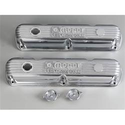 Mopar Polished Aluminum Valve Covers Mopar LA V8 5.2,5.9