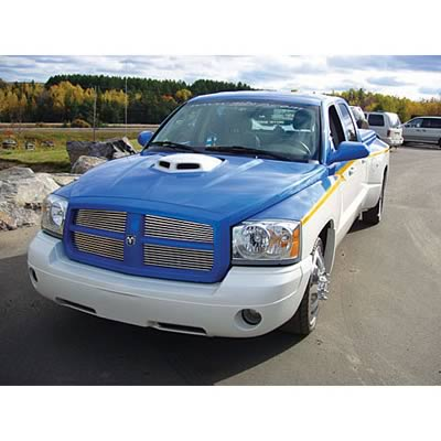 Good Hood SHAKER Ram Air Hood 05-06 Dodge Dakota 4.7L