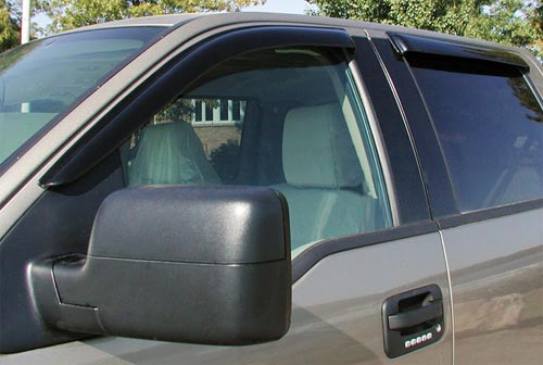 Stampede Tape-On Smoke Vent Visors 04-09 Durango, Aspen