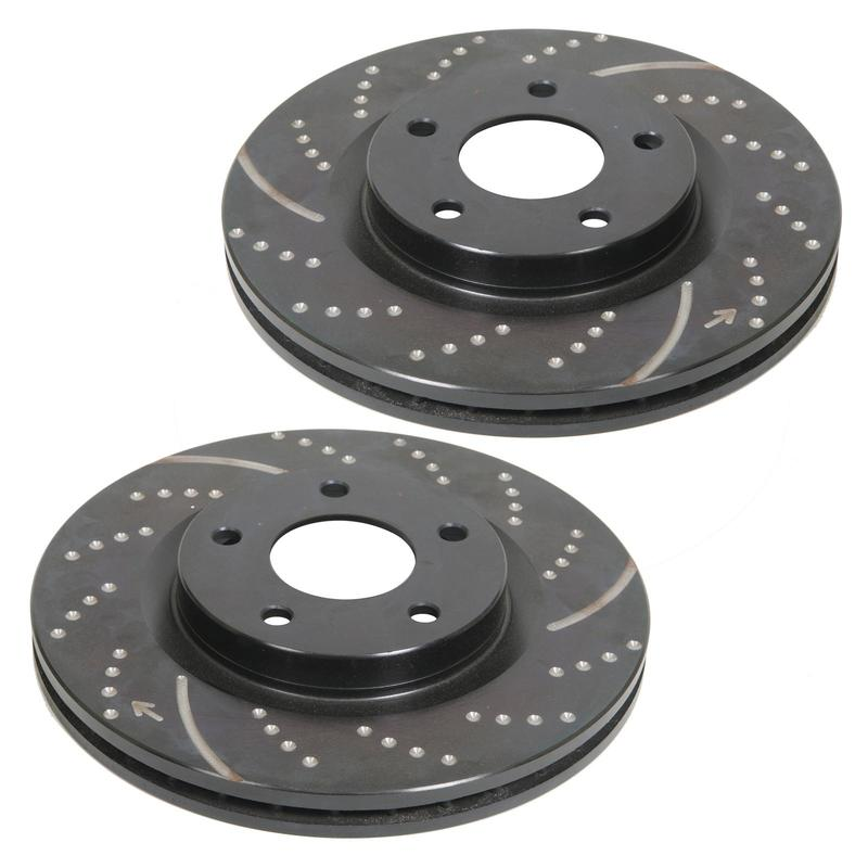 EBC 3GD Slotted-Dimpled Front Rotors 08-up Challenger 13.58