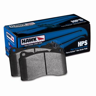 Hawk HPS Front Brake Pads 05-up LX Cars Solid Rotors
