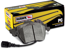 Hawk PC Front Brake Pads 05-up LX Cars Vented Rotors