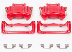 Red Performance Front Brake Calipers 05-up LX Cars V6, 5.7L