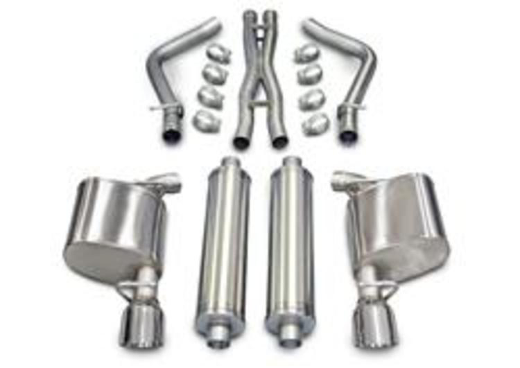 Corsa Xtreme Exhaust System Polished Tip 05-10 Chrysler 300 5.7L