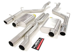 JBA Cat-Back Exhaust System 15-up Dodge Challenger SRT