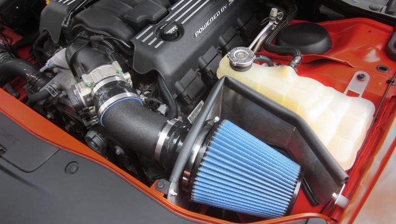 Corsa APEX MaxFlow 5 Blue Air Intake 11-up LX Cars 5.7L Hemi