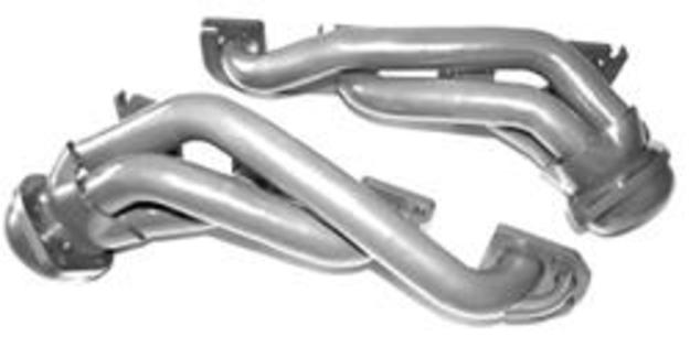 Gibson Silver Shorty Headers 05-08 Chrysler, Dodge LX Cars 5.7L