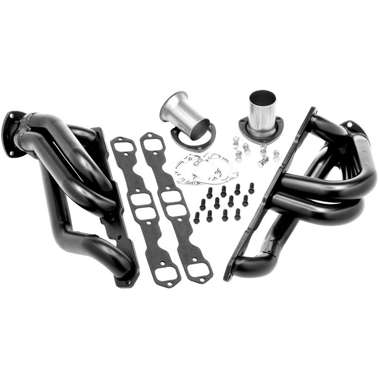 Hedman Black Shorty Headers 05-10 Chrysler, Dodge LX Cars 5.7L
