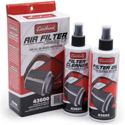 Edelbrock Air Filter Oil and Cleaning Kit