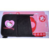 Hello Kitty Heart CD-DVD Visor Organizer