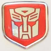 3D Steering Wheel Decal Red Autobot 02-10 Dodge Truck