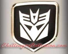 3D Black Decepticon Steering Wheel Decal 05-10 Dodge Car