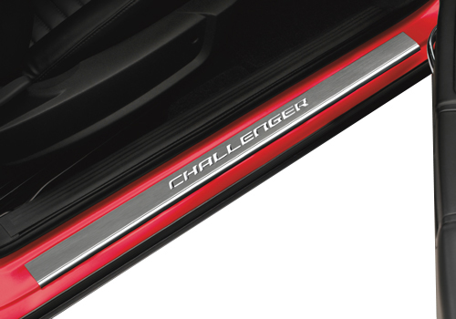 "Mopar ""Challenger"" Door Sill Covers 15-up Dodge Challenger"