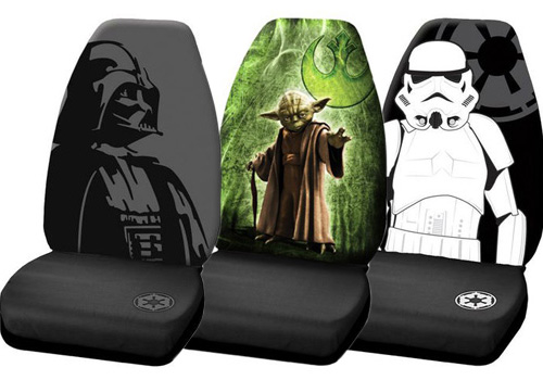 Star Wars Darth Vader Low Back Universal Seat Cover