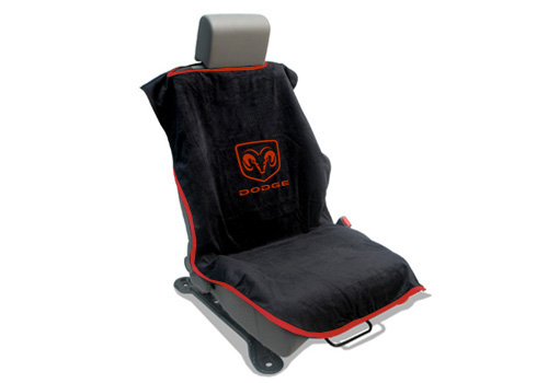 Seat Armour Slip On Seat Cover with Dodge Logo