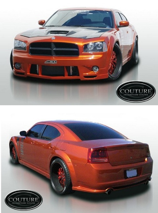 Couture Luxe Premium Wide Body Kit 06-10 Dodge Charger