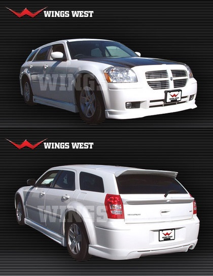 Wings West VIP Style Body Kit 05-08 Dodge Magnum V6