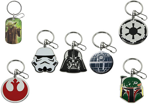 PlastiColor Star Wars Key Chain