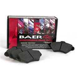 Baer Sport Ceramic Rear Brake Pads 02-18 Dodge Ram V6, V8