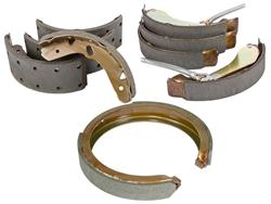 C-Tek Parking Brake Shoes 02-08 Ram, 03-09 Durango, Aspen